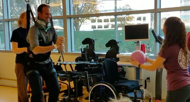 Miraculous Recovery: Man recovers from a spinal cord injury in VMC's Rehabilitation Unit