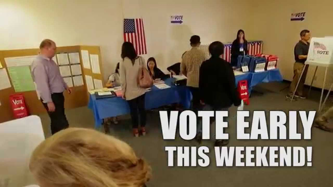 Early voting centers make balloting in Santa Clara County easier than ever