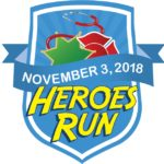 Heroes Run 2018 draws about 1,000