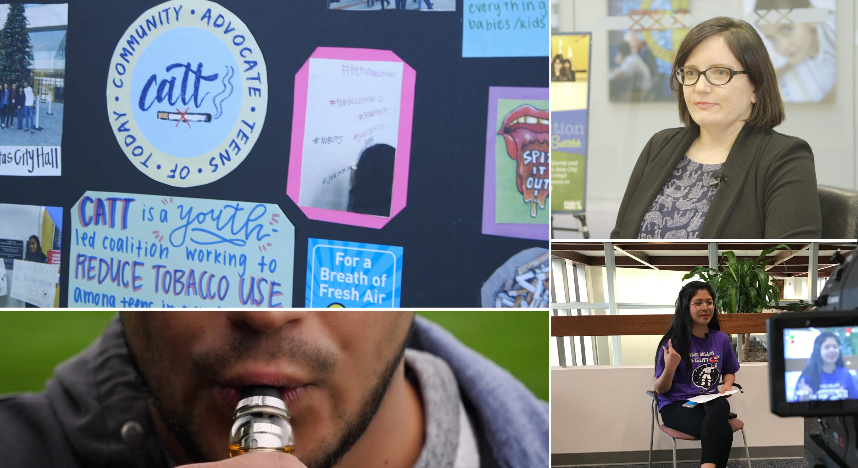 County youth fight vaping, nicotine