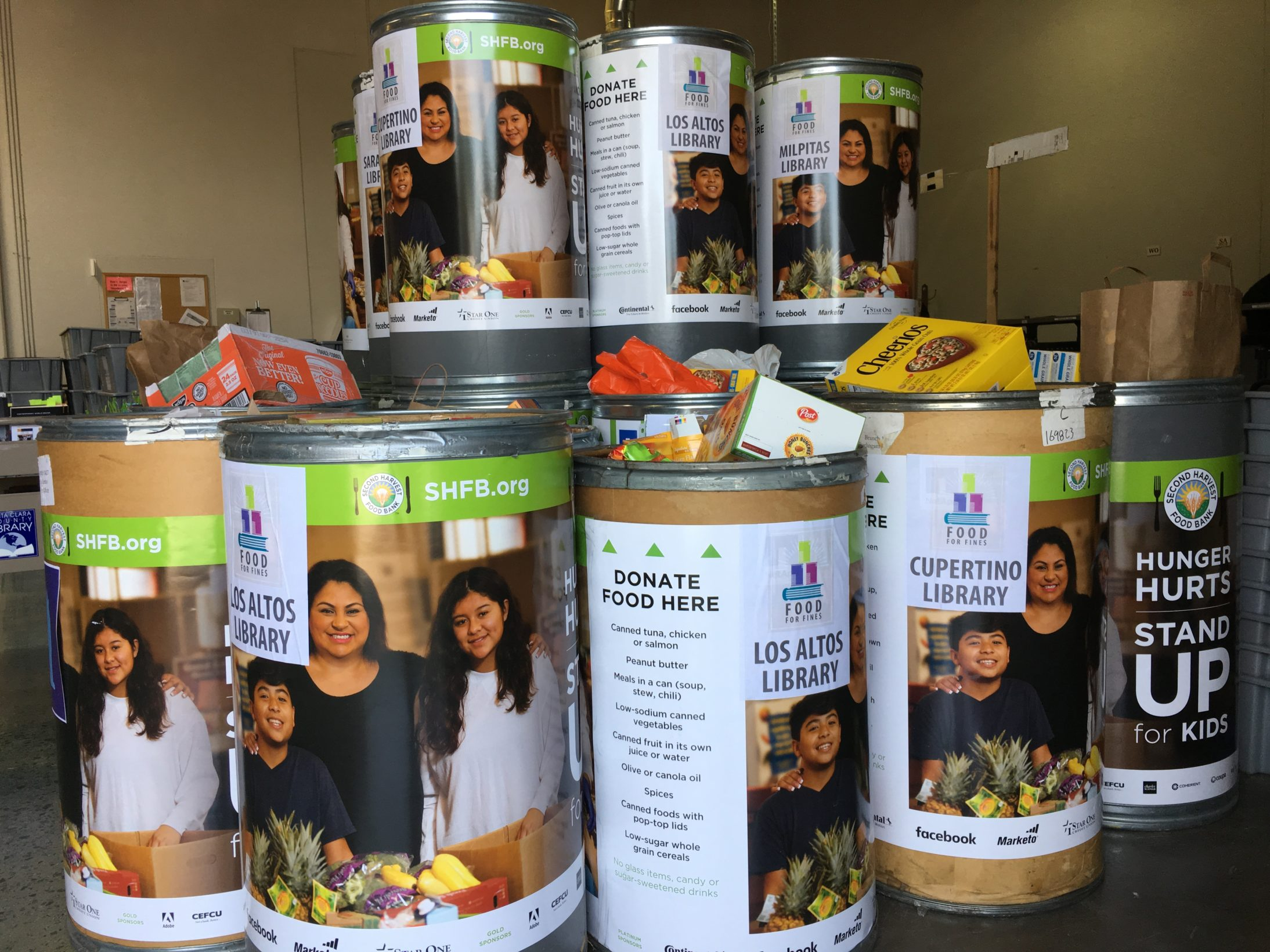 Library Fines, Fees       Waived In April Food Drive